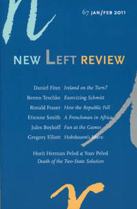 Portada de la revista New Left Review